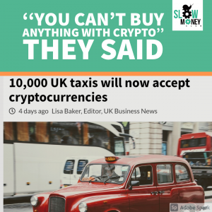 UK Taxis Will Accept Crypto